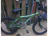 Boys green magna bike for sale