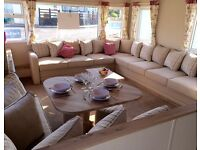 8 berth Platinum van to rent at Crimdon Dene - dog friendly.