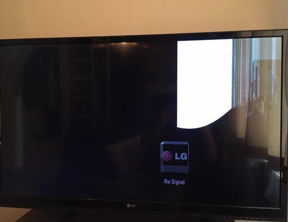 tv 42 inch. lg 3d tv 42 inch cracked screen but still works tv