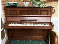 L. Poldo of Berlin upright piano - free to collect