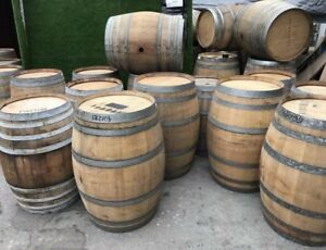 Wine Barrels (free delivery on 2 )