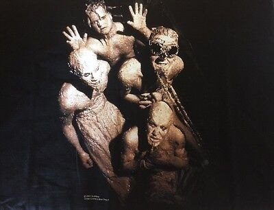 Mudvayne 2xl Black Short Sleeve 2001 Concert T Shirt New 100% Cotton