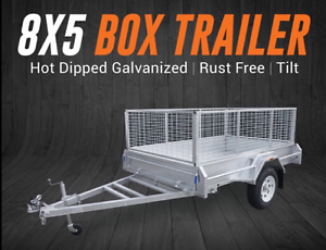 New gal box trailer with cage - Sale on this weekend 2x only Coffs Harbour Coffs Harbour City Preview