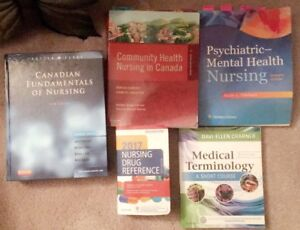 RPN textbooks and scrubs