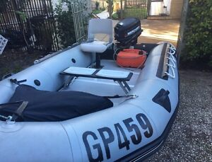 2000 Zodiac Classic MkII with 25Hp Mercury 2 Stroke Outbo - Inflatable Burwood Whitehorse Area Preview