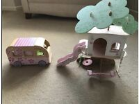 Dolls Tree House and Campervan