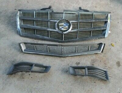 08 09 10 11 12 Cadillac CTS Upper Lower Grille Grill
