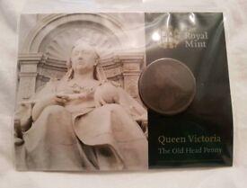 Royal mint old penny