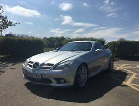 Mercedes SLK200 Kompressor Sport Pack 1.8 Automatic 2006 (56), FSH, long MOT, 2DR HT Roadster