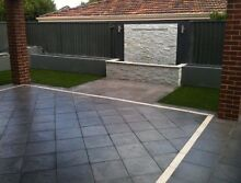 400x400x40mm pavers Reconstituted Limestone paving Naval Base Kwinana Area Preview