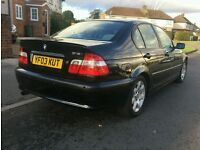 BMW 318I 2003 Automatic Black Saloon Low Mileage - Spares or Repairs