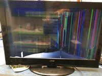 JMB 32 inch tv smashed screen
