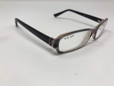 Eye Buy Direct Eyeglasses Frames Alpha 53-15-135 C2 Black Purple Marble 2262