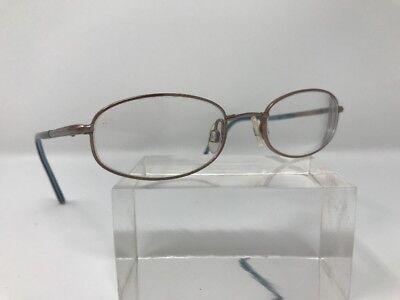Izod Eyeglasses X 72 Sand 47-18-130 Spring Hinge Purple/Blue A74