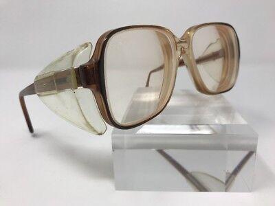 Titmus Safety Glasses Z87 CS-73 55-16-145 Brown Translucent W263
