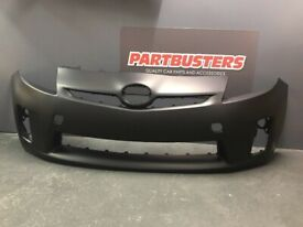 TOYOTA PRIUS FRONT BUMPER 2010-2012 NEW PRIMED INSURANCE APPROVED