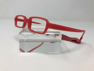 New Baby I Eyeglasses IP 2 39-14-135 Italy Child Red Head Strap R566