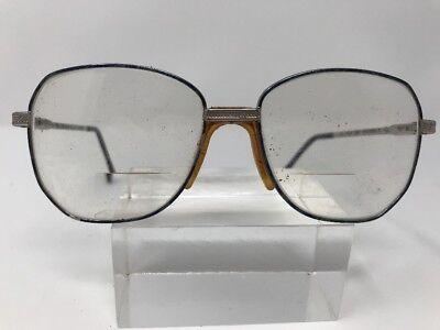 BerDel Sferoflex Eyeglasses Frame Italy Becky 50-13-130 ChromeBlue (Becky G Glasses)