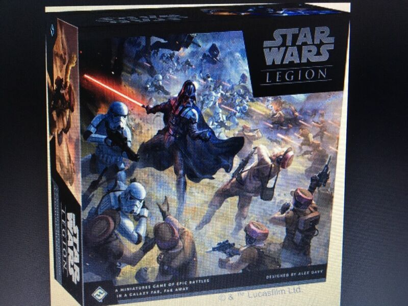 Plz Help Our Troops!  Star Wars: Legion - Core Set + Rebel Expansions PRE-ORDER