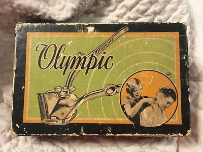 Vintage/Antique John Oster Olympic Manual Hair Clipper, Made In USA