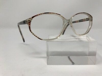 Broadway Collection Eyeglasses 55-14-140 Clear/Brown 9147