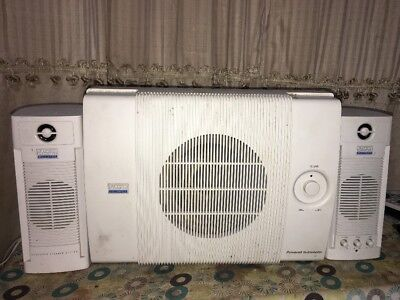 **XLNT** NO POWER CORD! ALTEC LANSING ACS40 MULTIMEDIA COMPUTER SPEAKER SYSTEM