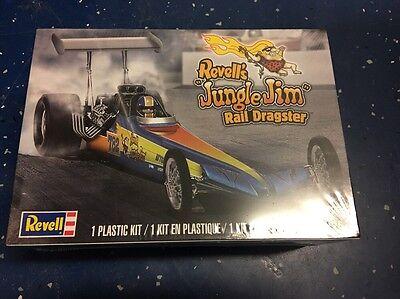 Revell RMX Plastic Model Kit 85-4312 1/25 Jungle Jim Rail Dragster  *New in Box*