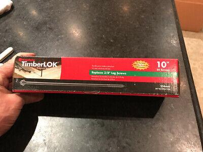 FastenMaster FMTLOK08-50 TimberLOK Heavy-Duty Wood Screw 50-Count 8 Inches