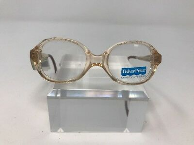 Fisher Price Kids Eyeglasses Teddy Bear 39-15-120 Brown S463
