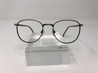 Advantage Eyewear Eyeglasses ASTO NM748 50-20-140 Tortoise/Silver D717