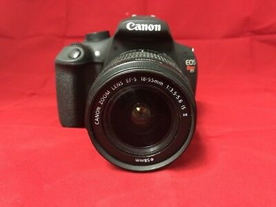 Canon EOS Rebel T5 Digital Camera w/ EF-S 18-55mm IS II Lens, Black