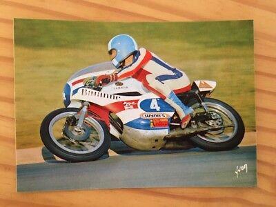 Carte postale moto Chevalier 350 Yamaha CP segunda mano  Embacar hacia Spain