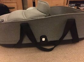 Bugaboo Bee 3 or bee plus Grey Carrycot With adapters VGC
