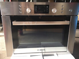 Bosch HBC84E653B Compact Built In Microwave - for Parts