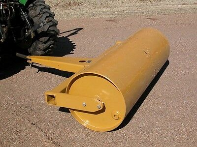 6 ft Drum Roller - Pull Behind - Drawbar / Ball Hitch - 109 Gallons - Commercial