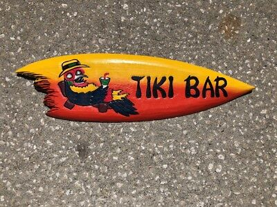 VERY COLORFUL 24' TIKI BAR TROPICAL SIGN WALL HANGING ART ISLAND HOME DECOR Bar Sign 24' Tropical Decor