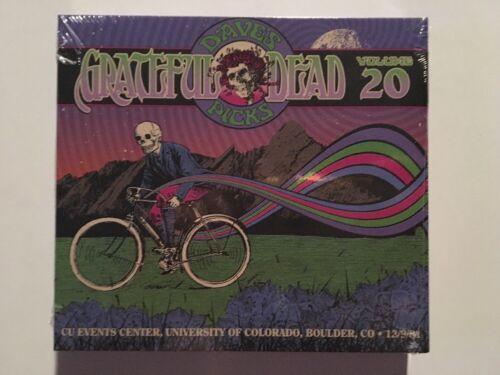Grateful Dead Dave s Picks Vol 20 Boulder, CO 12/9/81 OOP 9552 New Sealed 3cd - $79.00