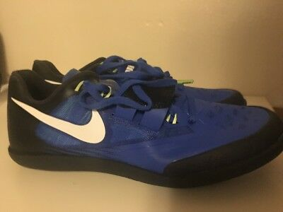 timeless design 10cd0 af469 NIKE ZOOM RIVAL SD SHOT PUT DISCUS THROWER TRACK SHOES 685135-413 MENS SIZE  12.5