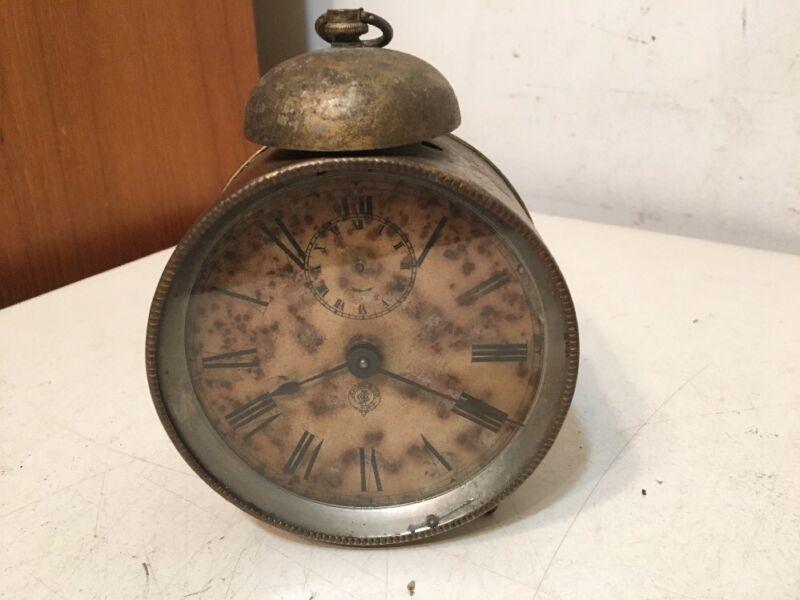 Rare Antique Jerome & Co Alarm Clock