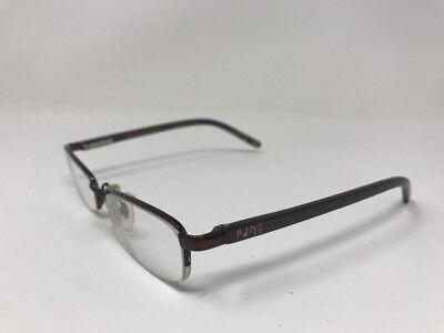 High School Musical Eyeglasses Halfrim HSM508-210 46-16-130 Glossy Brown AU56