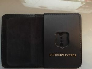 NYPD Police Officer Mini Badge Officer Father bi-fold Wallet - 2016 NYPD PBA