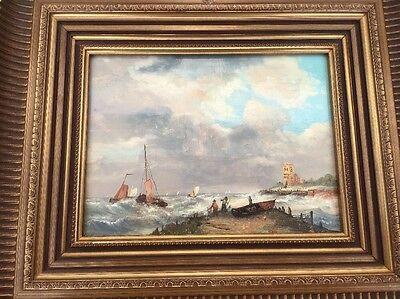 Ölbild Motiv Maritim Sign Hendrik