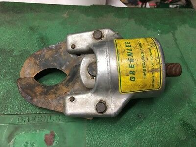 Greenlee Hydraulic Cable Cutter Head