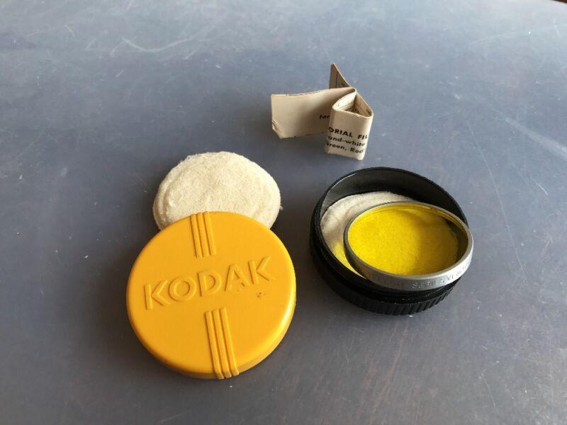 Kodak Pictorial Lens Yellow In Original Plastic Case