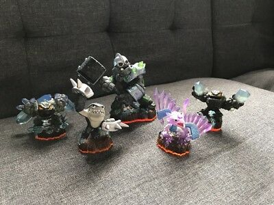 Crusher Skylander Giants (Skylander Giants Earth Lot Crusher Flashwing Lightcore Prism Break)