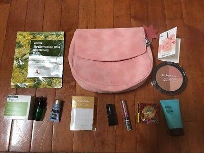 Ulta Beauty 12 Piece Makeup Set Bag Mira S Body Shop Ahaha Benefit Smashbox