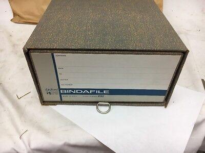 Lot Of 6 Vintage Office Storage Filing Binder Box