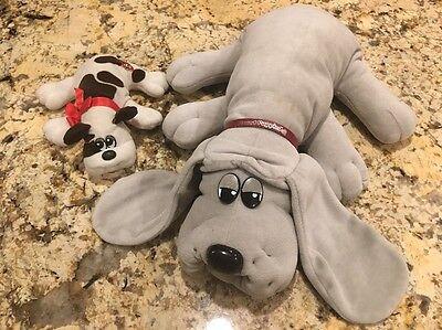 Pound Puppies Vintage Stuffed Animals 1985 Lot 2
