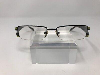 Schott NYC Eyeglasses Gordon 51-17-135 Green/Black C06