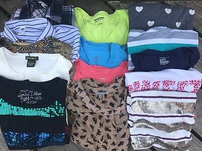 FIVE(5) POUNDS WOMEN'S CLOTHING SHIRTS TOPS SHIRT LOT ASSORTED SIZES VARIETY
